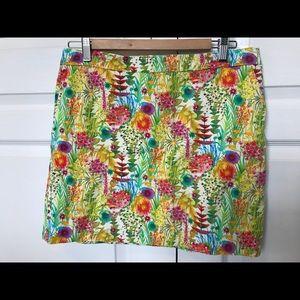 J Crew Liberty Tresco floral Mini Skirt